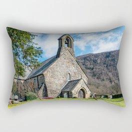 Beddgelert Church Rectangular Pillow