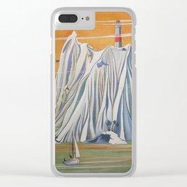 Fantasy Island Clear iPhone Case