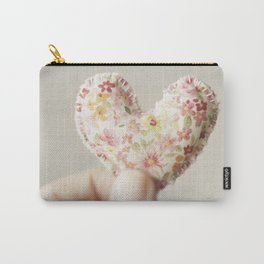 My heart in my hand... Carry-All Pouch