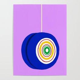 Blue Yo-Yo Poster