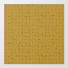 Triangle Pattern 1 Canvas Print