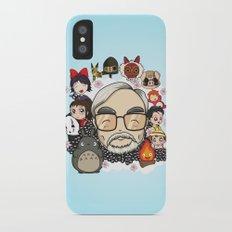Ghibli, Hayao Miyazaki and friends iPhone X Slim Case