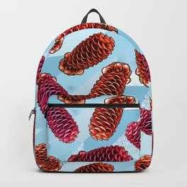Australian Native Florals - Beehive Ginger Backpack