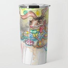 Alice's Mad Tea Party Travel Mug