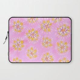 Tangerine Petal Rose Laptop Sleeve
