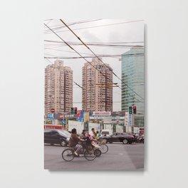 Traffic jam Metal Print