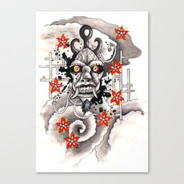 ONI FACE Canvas Print