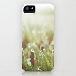 Morning Grass iPhone Case