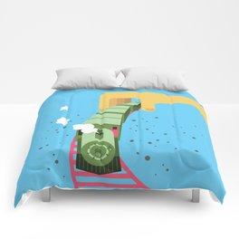 My choo choo train Comforters
