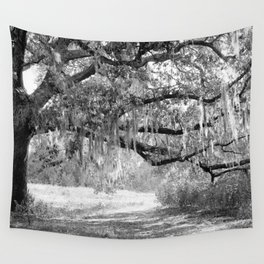 New Orleans Oak Tree Wall Tapestry