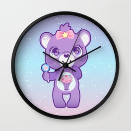 Share bear Wall Clock