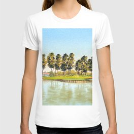 Sawgrass TPC Golf Course 17th Hole T-shirt