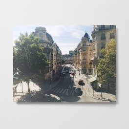 Looking Down on Paris, 12th Arrondissement Metal Print