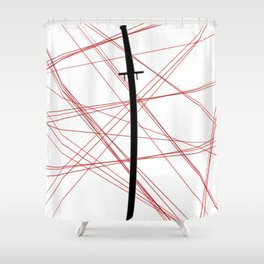 Kill La Kill - Bakuzan Shower Curtain