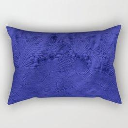 VINTAGE INDIGO FABRIC Rectangular Pillow