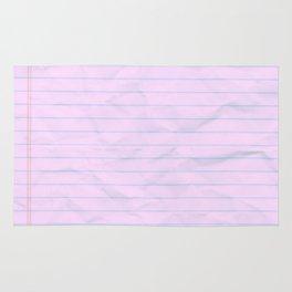 Class Notes Rug