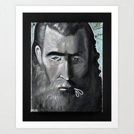 The Spitter Art Print