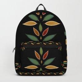 """Tree of Polka Dots Leaves (Black)"" Backpack"