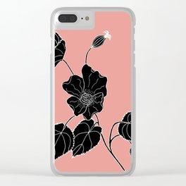 Desert Lantern - Abutilon leucopetalum Clear iPhone Case