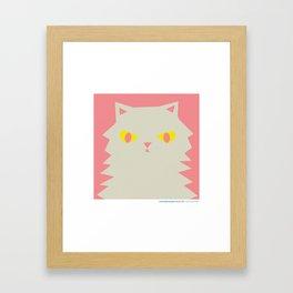 #30daysofcats 02/30 Framed Art Print