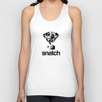 snatch Tank Tops featuring SNATCH by childoftheatom