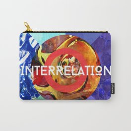 Interrelation Carry-All Pouch
