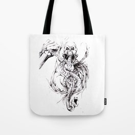 You Have Been Summoned Inktober Drawing Tote Bag