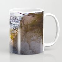 mexican Mugs featuring Mexican desert by lennyfdzz