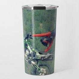 MotoCross King Stunt Performer Travel Mug