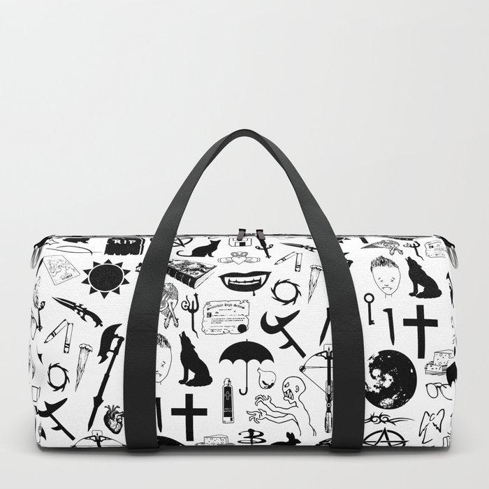 Buffy Symbology, Black Duffle Bag