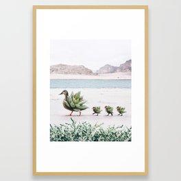 Still Growing Framed Art Print