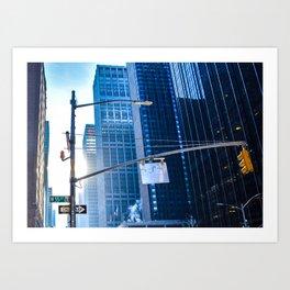 W 55th Street Art Print