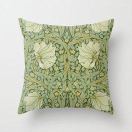 """William Morris """"Pimpernel"""" 1. Throw Pillow"""