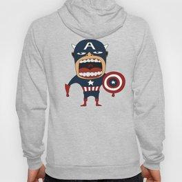 Screaming Captain America Hoody