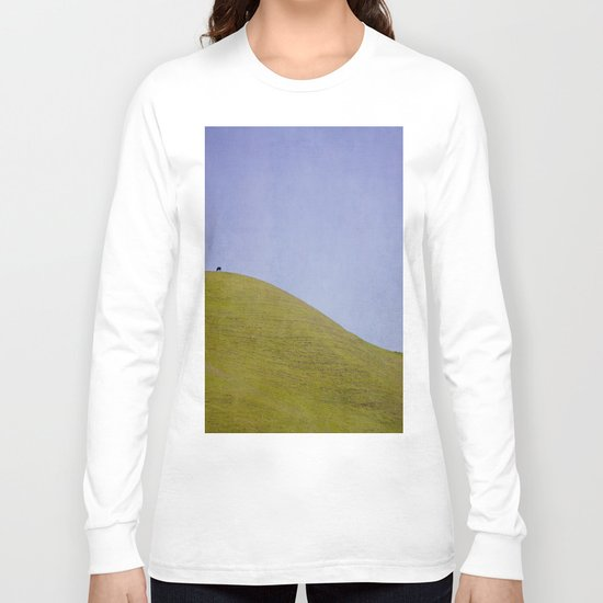 Cow on the Hill Long Sleeve T-shirt