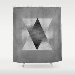 Pyamid Composition II Shower Curtain