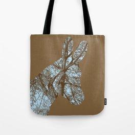 Woodland Donkey Tote Bag