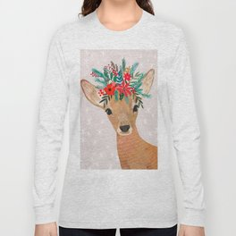 Christmas Deer Long Sleeve T-shirt