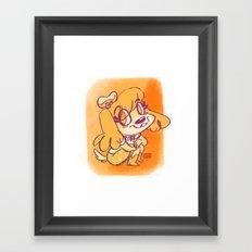 Miss Isabelle Framed Art Print