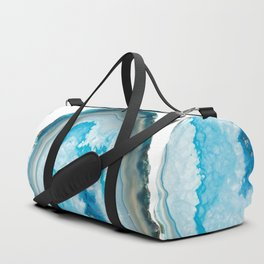 Collapsing blue Agate Duffle Bag
