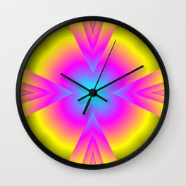 spectral colors Wall Clock