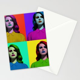 Pop Art Stationery Cards