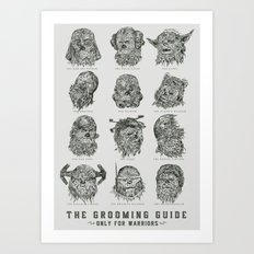 The Grooming Guide Art Print
