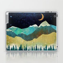 Snowy Night Laptop & iPad Skin