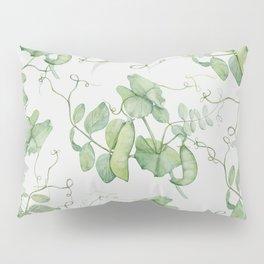 Floating Peas Pillow Sham
