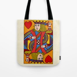 King of Hearts Tote Bag