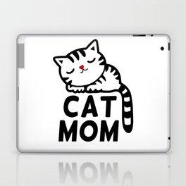 Cat Mom Laptop & iPad Skin