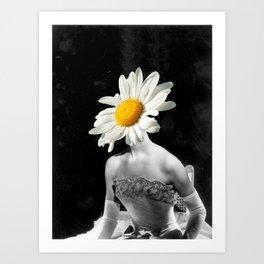 Ms Daisy Art Print