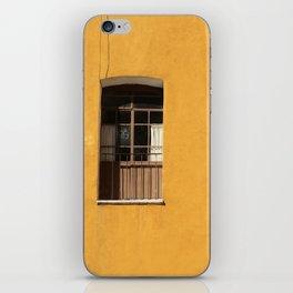 Yellow Wall iPhone Skin