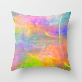 Prisms Play of Light 2 Throw Pillow